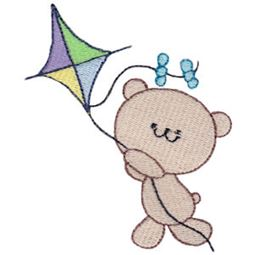 Kite Flying Bear