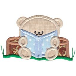 2 Cute Bears Applique 10