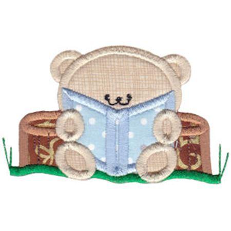 2 Cute Bears Applique 10