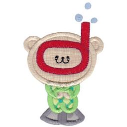 2 Cute Bears Applique 12