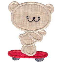 2 Cute Bears Applique 16