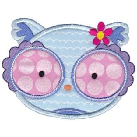 Adorable Animal Faces Applique 1