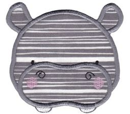 Adorable Animal Faces Applique 12