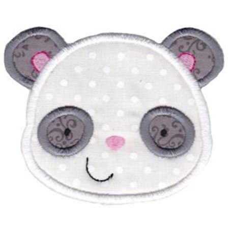 Adorable Animal Faces Applique 9