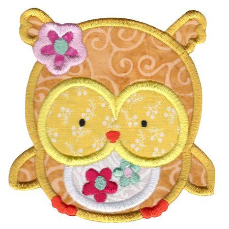 Adorable Owls Applique 1