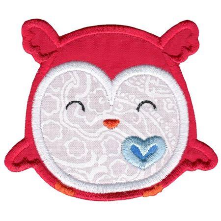 Adorable Owls Applique 10