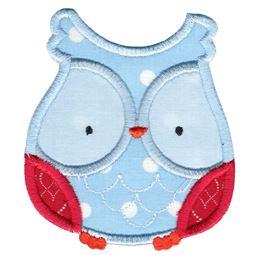 Adorable Owls Applique 12
