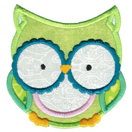 Adorable Owls Applique 2