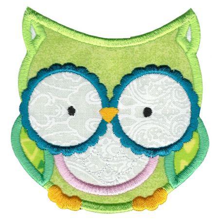 Adorable Owls Applique 2
