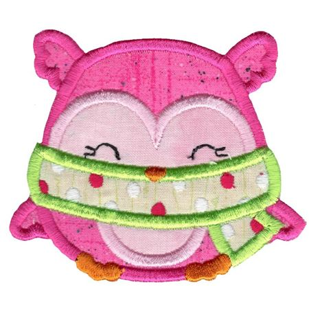 Adorable Owls Applique 5