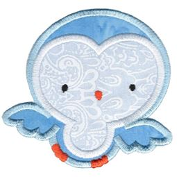 Adorable Owls Applique 6