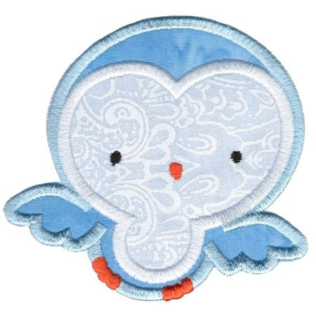 Adorable Owls Applique 6