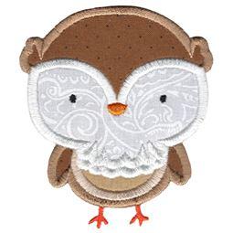 Adorable Owls Applique 8