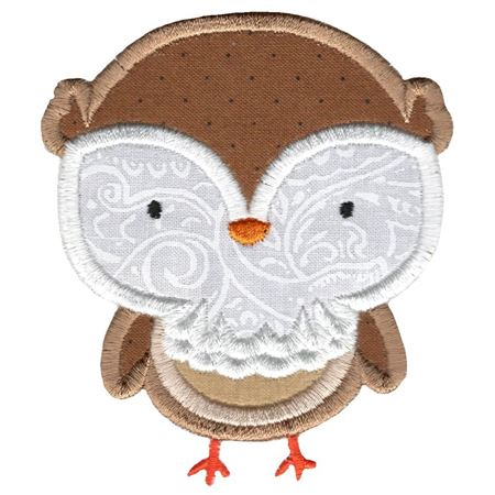 Adorable Owls Applique 8