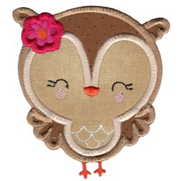 Adorable Owls Applique 9