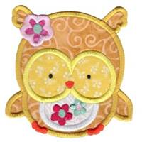 Adorable Owls Applique