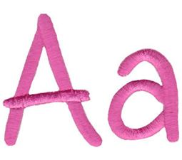 All Things Pink Alphabet A