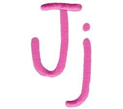 All Things Pink Alphabet J