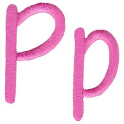 All Things Pink Alphabet P