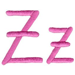 All Things Pink Alphabet Z