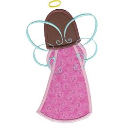 Angels Applique 5x7 6x10 10