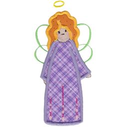 Angels Applique 5x7 6x10 9