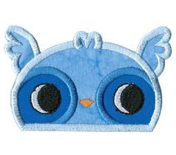 Boy Owl Animal Topper Applique