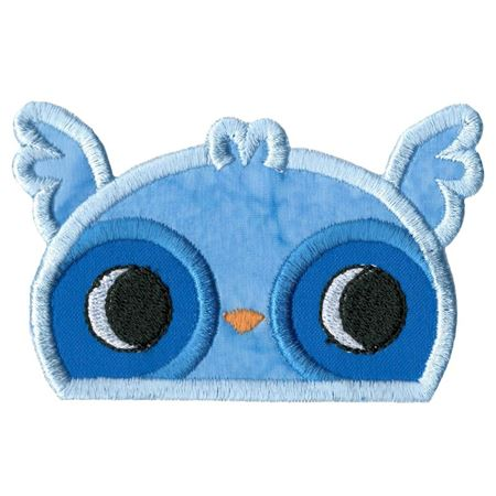 Boy Owl Animal Topper Applique