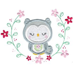 Applique Owl Laurel