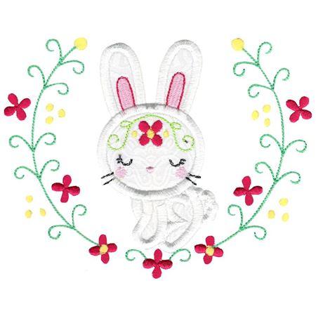 Applique Rabbit Laurel