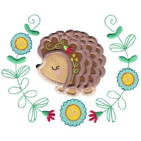 Applique Hedgehog Laurel
