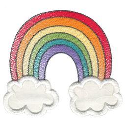 Sketch Rainbow Applique