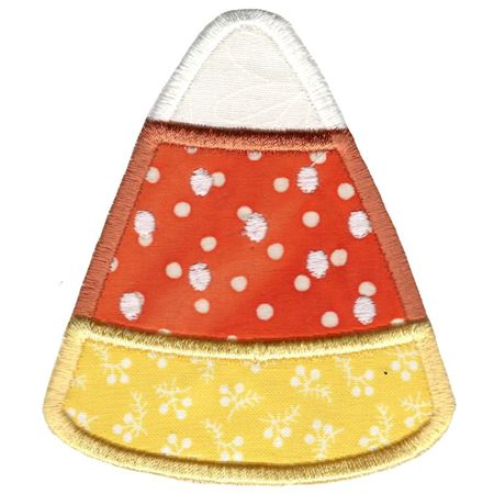 Candy Corn Applique