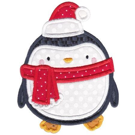 Applique Christmas Pelican