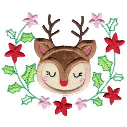 Applique Rudolph Laurel