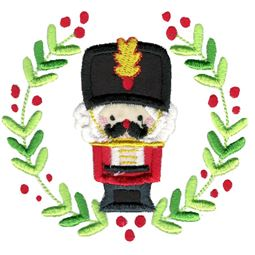 Applique Nutcracker Laurel