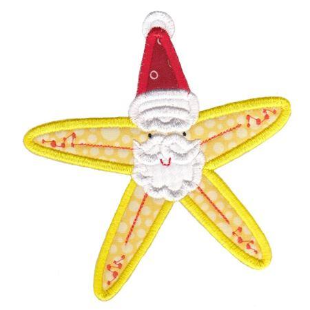 Applique Christmas Starfish