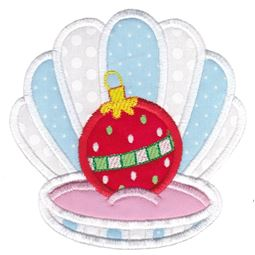 Applique Christmas Oyster
