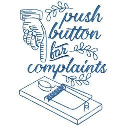 Push Button For Complaints