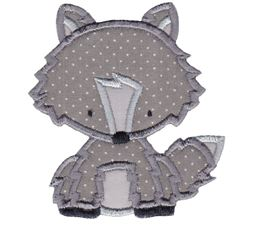 Arctic Fox Applique