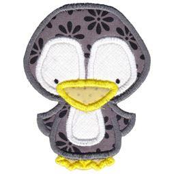 Arctic Penguin Applique