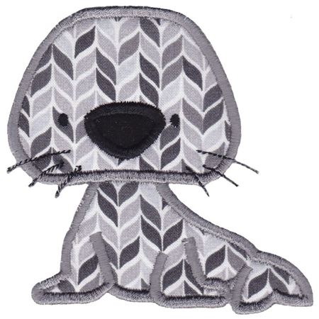 Arctic Seal Applique