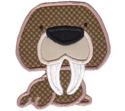 Arctic Walrus Applique