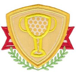 Trophy Badge