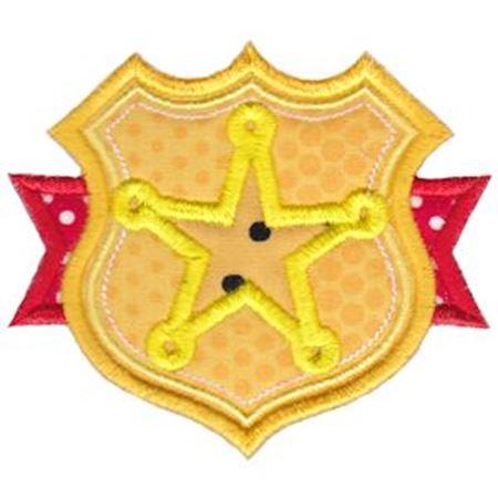 Sheriffs Star Badge