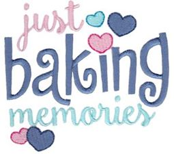 Just Baking Memories