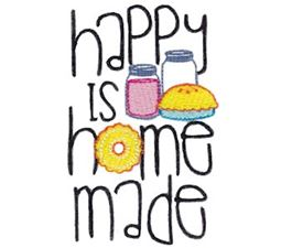 Happy Is Home Made