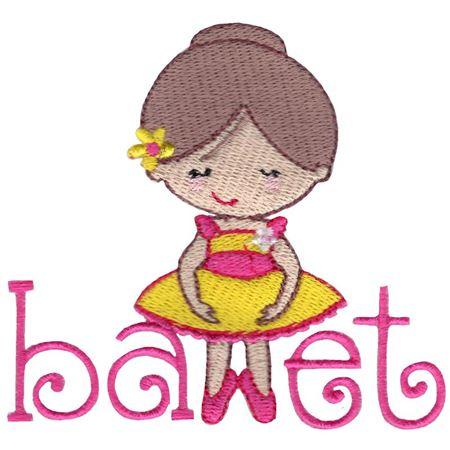 Ballet Word Art
