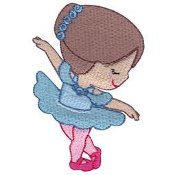 Ballerina in Aqua Tutu
