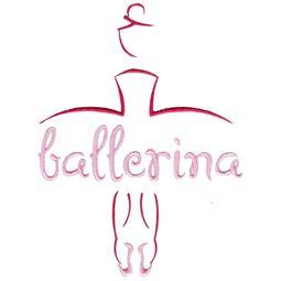 Ballerina Word Art